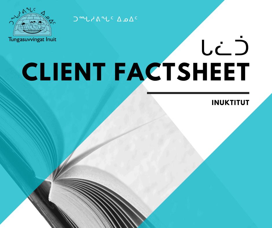 Gladue Factsheet Inuktitut thumbnail