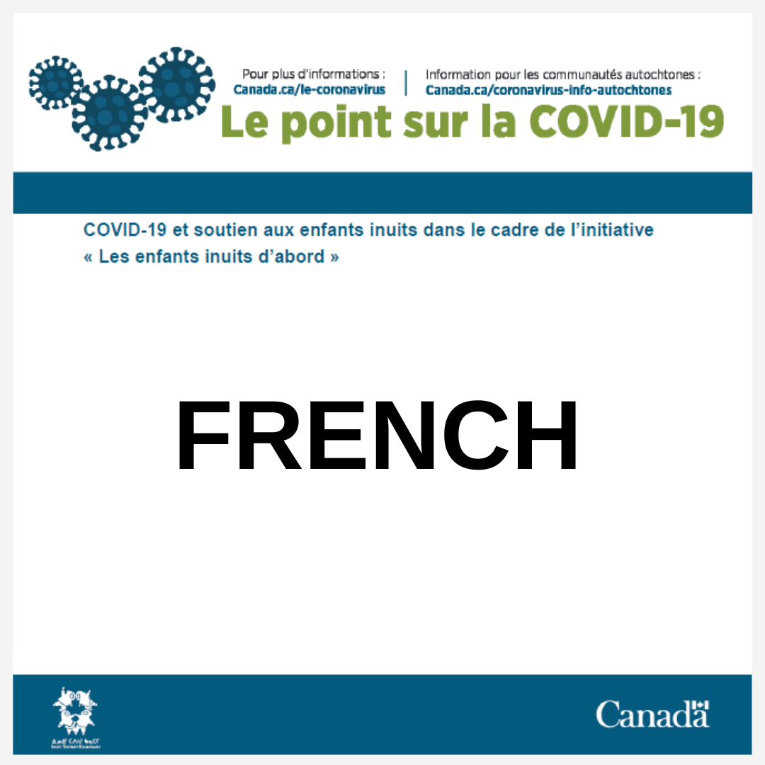 COVID-19 update - French