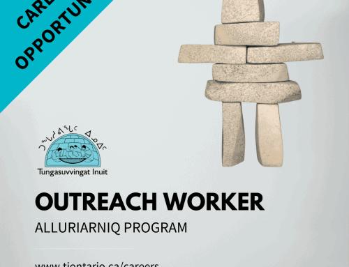 Outreach Worker, Alluriarniq Program